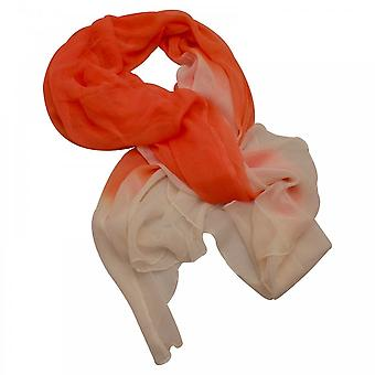 Marie Mero Orange Army 2 Tone Scarf