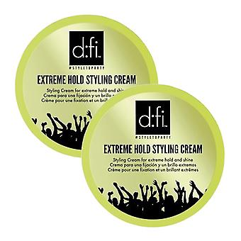 2-pack D:fi Extreme Cream Large 150g