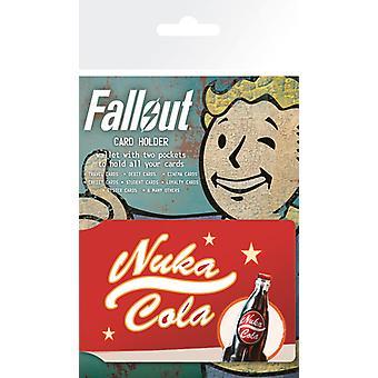 Fallout 4 Nuka Cola annuncio titolare della carta