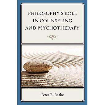 Papel da filosofia em aconselhamento e psicoterapia