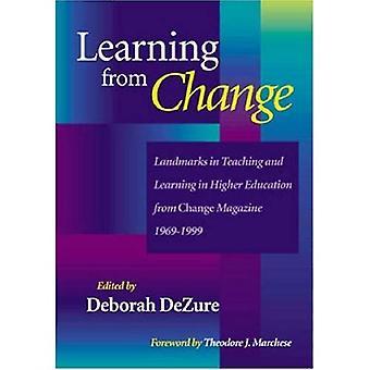 Apprentissage de repères de changement dans l'enseignement et l'apprentissage dans l'enseignement supérieur de changement Maga...