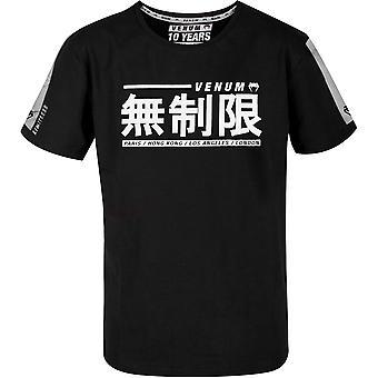 VM Kids ilimitados curto t-shirt manga-preto/branco