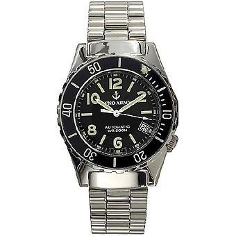 Zeno-Watch Herrenuhr Army Diver Automatic 485N-a1M