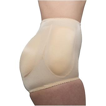 Rago style 917 - 4-sided padded panty brief light shaping/removable pads