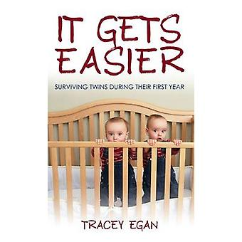 It Gets Easier - Surviving Twins During Their First Year by Tracey Ega