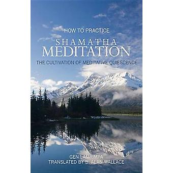 How to Practice Shamantha Meditation - The Cultivation of Meditative Q