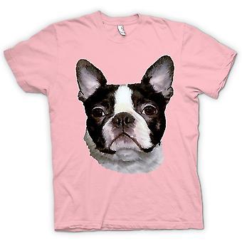 Cão de t-shirt - Boston Terrier Pet - crianças