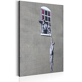 Tavla - Well Hung Lover by Banksy