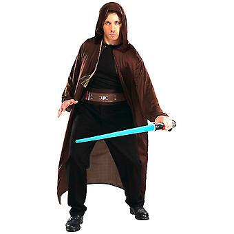 Star Wars Jedi Ritter Männer Robe Kostüm Blister Kit