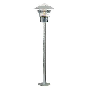 Vejers  -  Galvanised Outdoor Lamp Post  - Nordlux 25118031