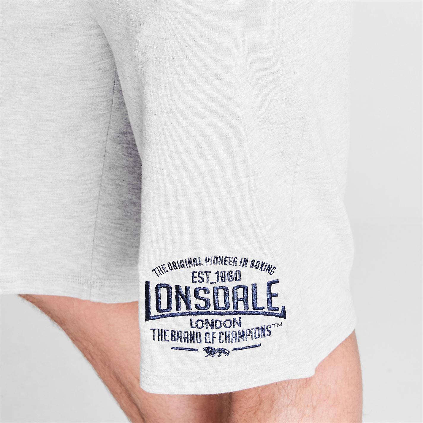 Lonsdale Bomber casella leggeri pantaloncini pantaloni pantaloni boxe Sport abbigliamento