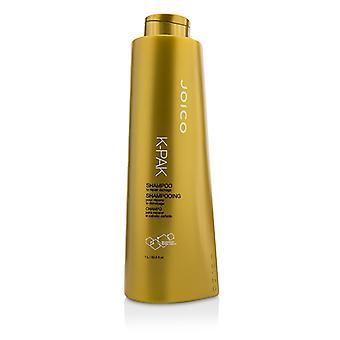 JOICO K-Pak Shampoo - korjata vahinkoja (uusi pakkaus) 1000 ml / 33,8 oz