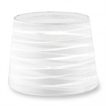 Vestir-se afilado redondo branco de acabamento texturado sombra