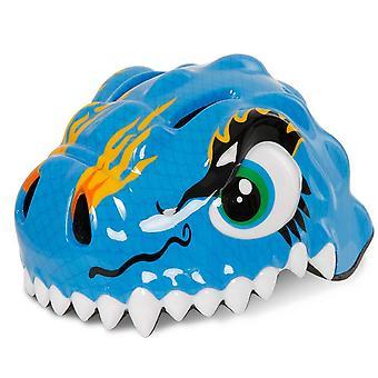 Snappy - El descarado azul Dino- Casco de seguridad