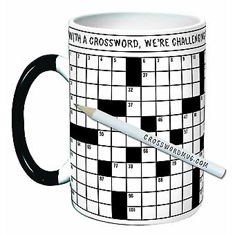 Mug - UPG - Crossword Puzzle New Coffee Cup 3340