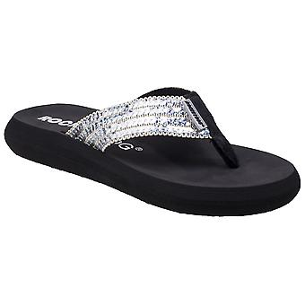 Rocket Dog Womens Spotlight Glam Squad Slip On Sandal Irides