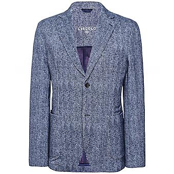 Circolo 1901 Stretch Slim Fit Herringbone Jacket