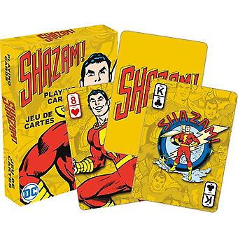 Karta do gry-DC Comics-Shazam Poker New 52594