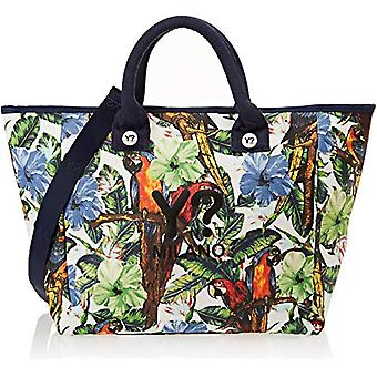 YNOT Bc002/pe18 Women's beach bag (Multicolor Parrots) 21x38x62 cm (W x H x L)