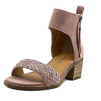 Lucky Brand Womens nichele Suede Open Toe Casual Slingback Sandals