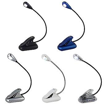 Mighty Bright Xtraflex LED Clip On Book Light With Low Intensity & Greater Spread Of Light, 6 Lumens, Various Colours