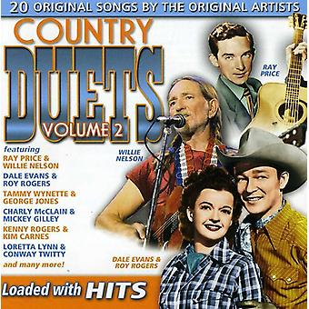 Country Duets - Vol. 2-Country Duets [CD] USA import