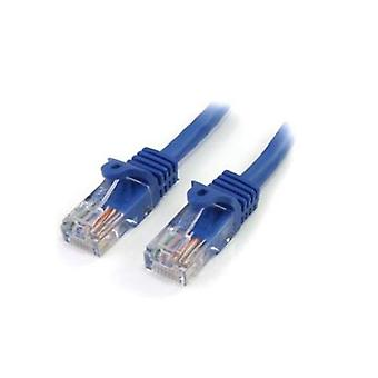 StarTech 3M blauwe Snagless UTP Cat5E Patch kabel