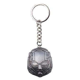 Ant Man & The Wasp Keyring Keychain Helmet new Official Marvel Silver Metal