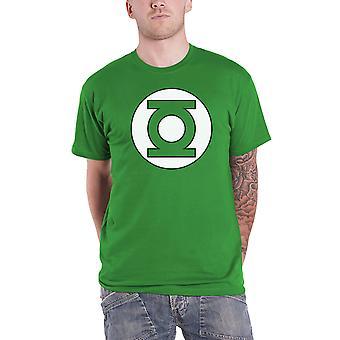 الفانوس الأخضر تي شيرت فانوس الشعار الجديد الرسمي DC كاريكاتير الرجال الأخضر
