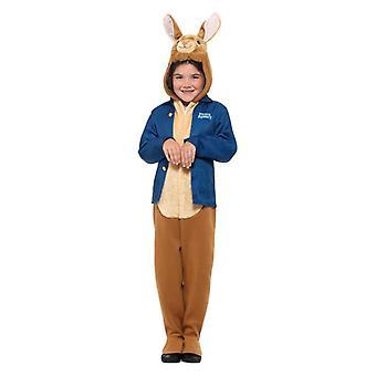 Chłopcy Peter Rabbit Deluxe Fancy Dress Kostium Beatrix Potter