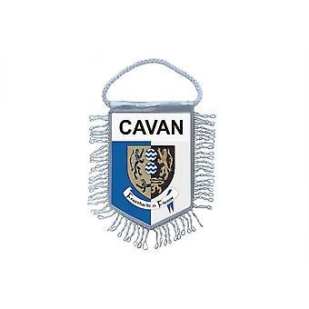 Vlag mini vlag land auto decoratie souvenir Blason Cavan