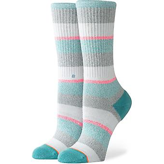 Stance All That Crew Socks in Grey