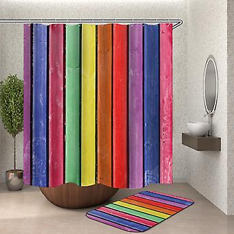 Rustikk Rainbow dusj Curtain