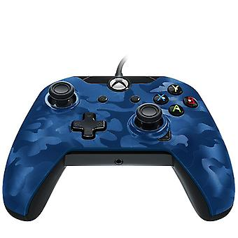 PDP DX Wired controller-blå Camouflage Xbox One