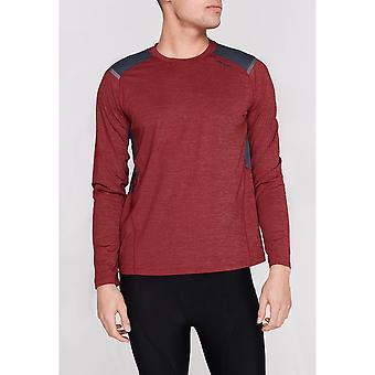 Sugoi Mens Titan Long Sleeve Crew Neck Casual Sweatshirt Top