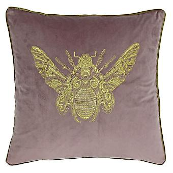 Riva Home Cerana Bee Design Polyester Filled Cushion