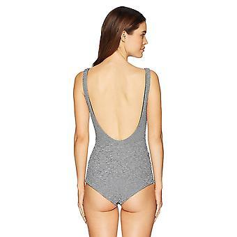Mara Hoffman mujeres's Adeline Tie Front Low Leg One Piece Traje de baño, Bridgette ...