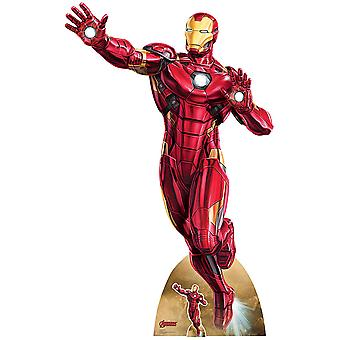 Tony Stark Avengers Marvel Legends Iron Man Take Off Lifesize Karton Ausschnitt