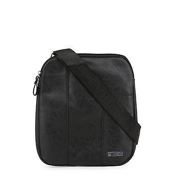 Carrera blugi bărbați & apos;s crossbody sac, negru 506
