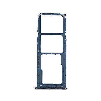 Echte Samsung Galaxy A50 - SM-A505 - Dual Sim Tray - Blauw - GH98-43922C