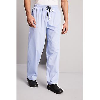 SIMON JERSEY Essentials Unisex Lightweight Scrub Trousers, Sky Blue