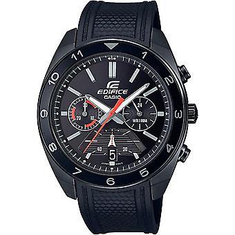 Casio EFV-590PB-1AVUEF Watch - Full Black Sine Multifunction Building