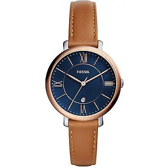 ES4274 - Leather Brown woman JACQUELINE Fossil watch