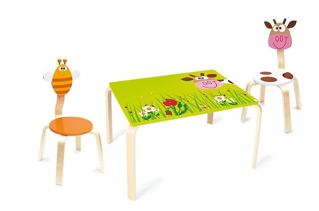 Scratch Table pour enfants Marie - Vache