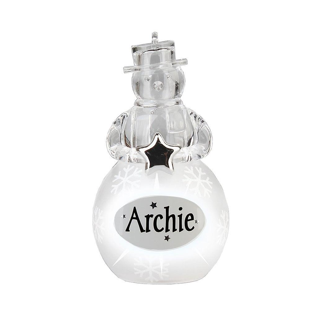 History & Heraldry Snowman - Archie