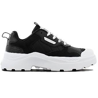 Palladium Pallakix 90 Low 76425-002-M Women's Shoes Black Sneakers Sports Shoes