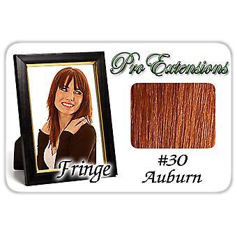 #30 Auburn Pro Fringe Clip otsa tukka