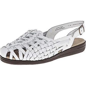 Softspots Women's Tobago,White Leather,US 5.5 W