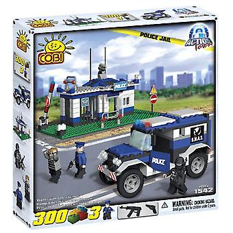 Action Town 300 Piece Politi Jail Byggeri Set
