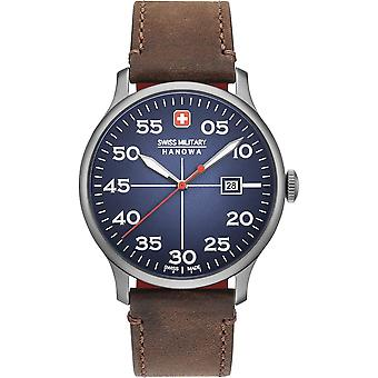 Sveitsin sotilaallinen Hanowa 06-4326.30,003 ACTIVE DUTY Miesten Watch